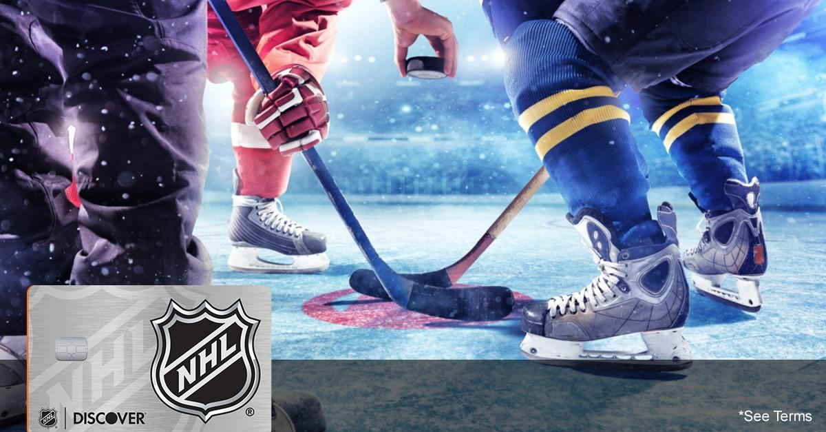10% Off NHL® Gear With An NHL® Discover it® Card