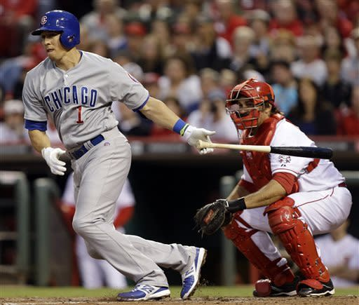Cubs blow lead before beating Reds 4-2 in 10th