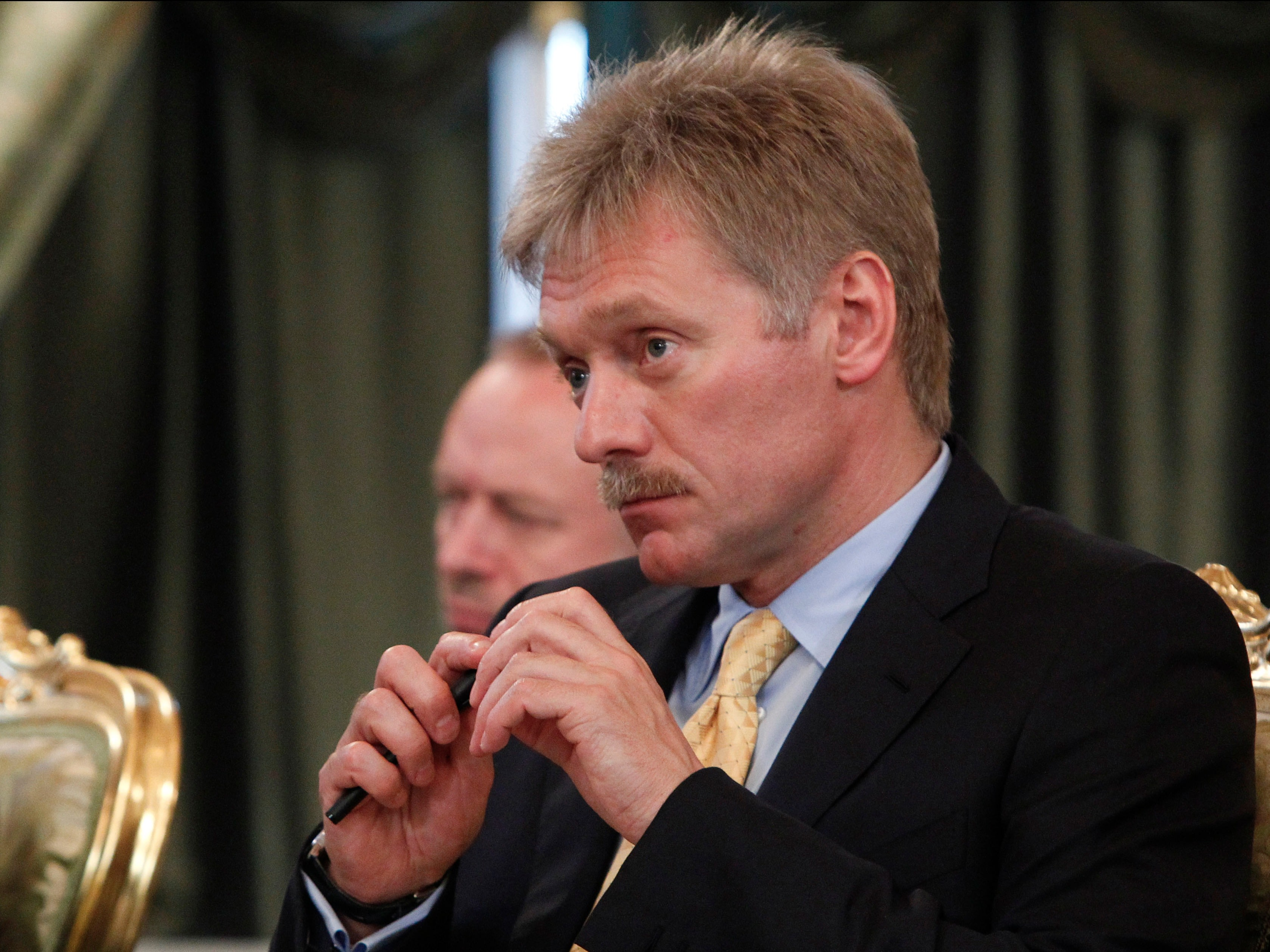 Putin's spokesman explained the Syria bombing campaign in a sentence