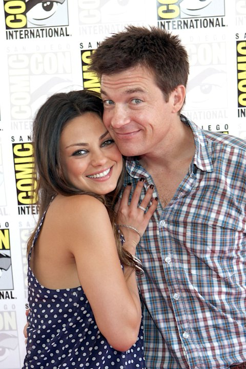 Comic Con 2009 Extract Panel Mila Kunis Jason Bateman