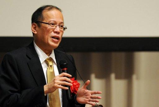President Benigno Aquino thanked China for its help to finish a major Philippine water project