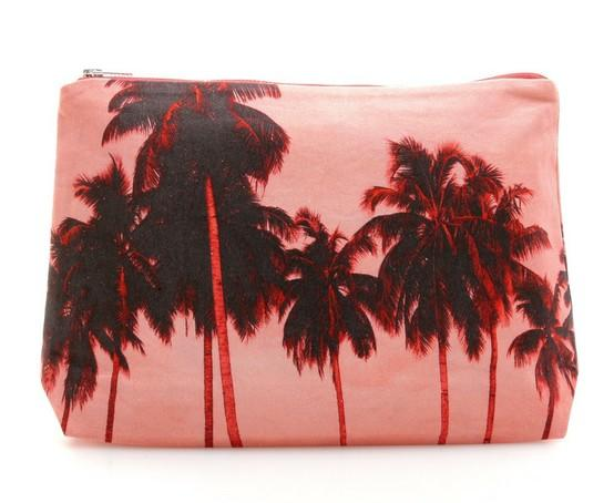 Palm tree pouch.