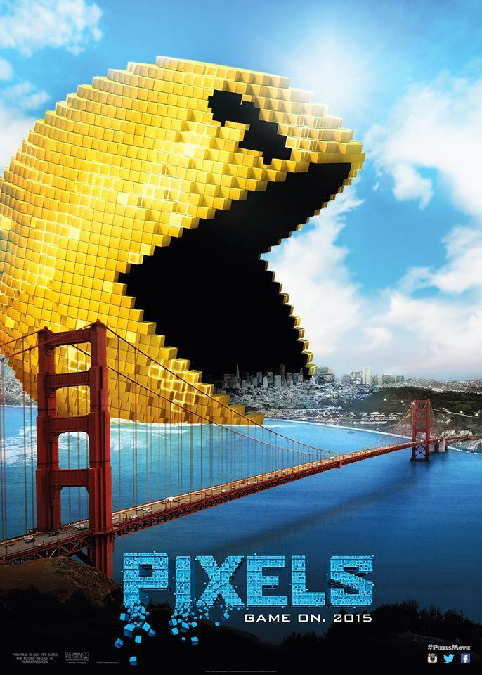 Check Out These Amazing Posters For Adam Sandler Video Game Movie Pixels