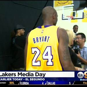 Bryant Talks Lakers Season At 2014 Media Day