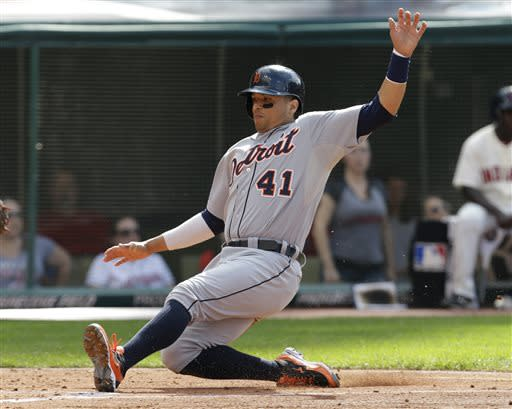 Tigers rout Indians again, 9-4