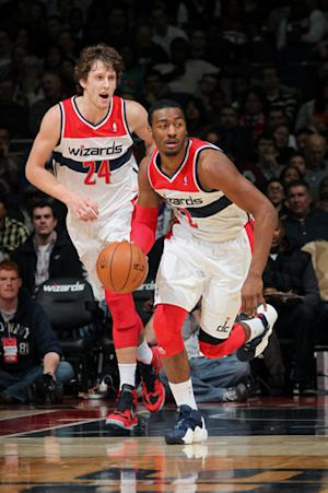 Wizards top Timberwolves 114-101 in 1st Wall start
