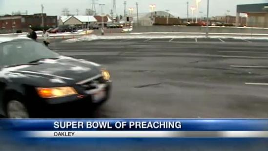 'Super Bowl of Preaching' entertains thousands at church