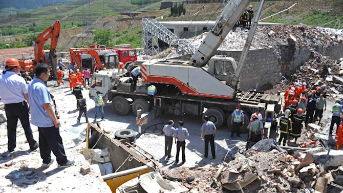 At least 12 dead in China factory explosion