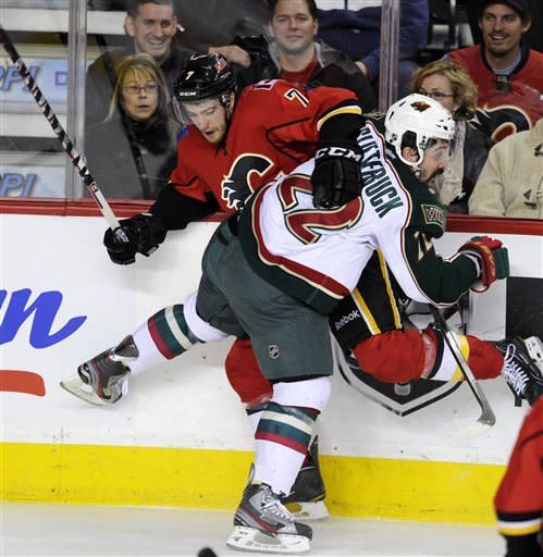 Iginla scores go-ahead goal in Flames' win