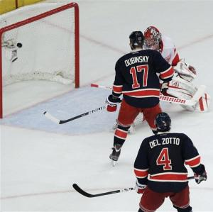 Callahan's OT goal lifts Rangers over Red Wings