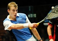 World champion Nick Matthew, pictured in 2011, became the first Englishman to win the British Open three times when he overcame Ramy Ashour, the former world champion from Egypt, 11-9, 11-4, 11-8