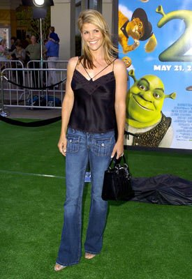 Lori Loughlin at the L.A. premiere of Dreamworks' Shrek 2