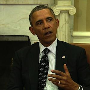 "Obama: World community will ""stand firmly"" behind Ukraine"