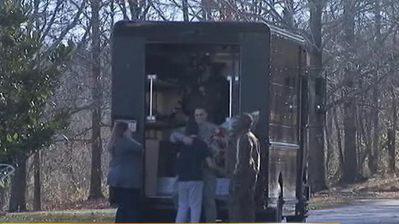 UPS Delivers Ultimate Christmas Surprise: Returned Soldier