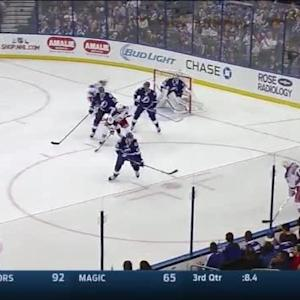Ben Bishop Save on Derick Brassard (08:47/2nd)