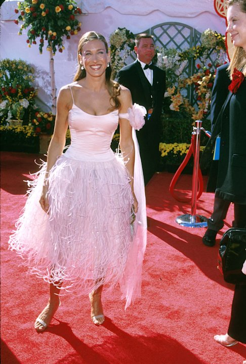 Sarah Jessica Parker at The 52nd Annual Primetime Emmy Awards.