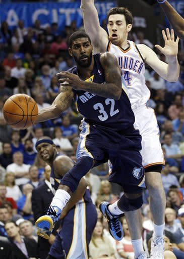 Grizzlies win 94-88 to snap Thunder's streak at 6