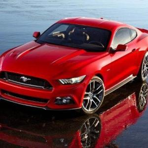 Ford Unveils New Mustang