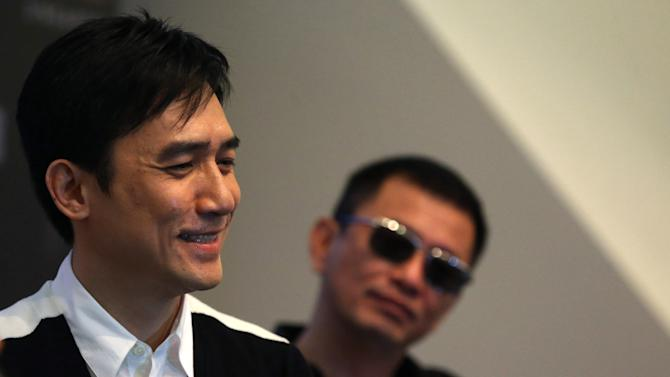 Tony Leung says no soured ties with Wong Kar-wai