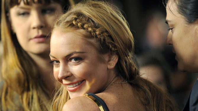 Lindsay Lohan enters rehab at Betty Ford Center