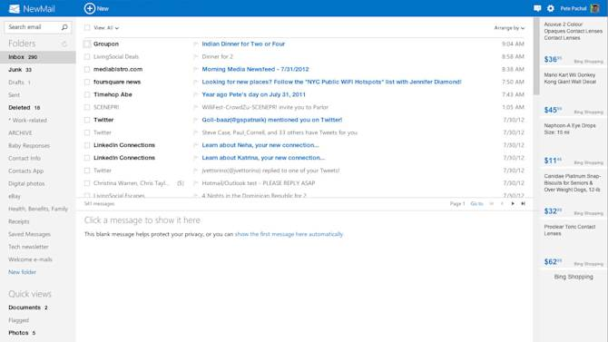 Microsoft: Outlook.com Security Will be 'Strong,' Better than Gmail