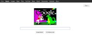 The homepage of http://www.google.co.uk/ on April 23