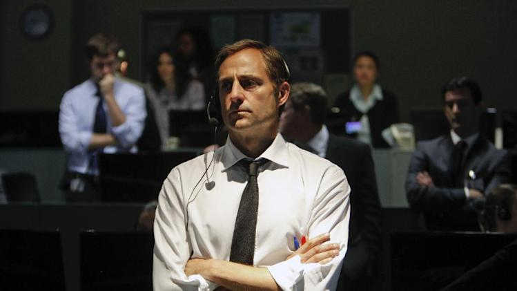 "This film image released by Columbia Pictures shows Mark Strong in a scene from ""Zero Dark Thirty,"" directed by Kathryn Bigelow.  (AP Photo/Sony - Columbia Pictures, Jonathan Olley)"