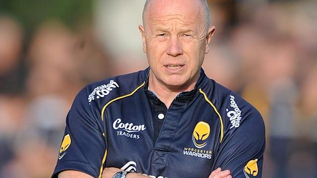Worcester coach Richard Hill