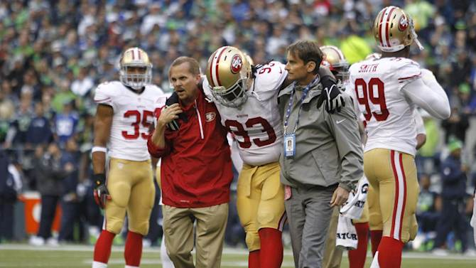 49ers lose NT Ian Williams, likely for season