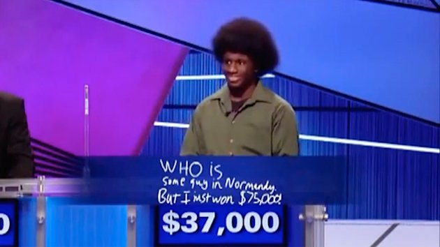 Hilarious Jeopardy Answer Wins Teen $75K (ABC News)