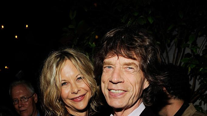 The Women NY Premiere 2008 Meg Ryan Mick Jagger