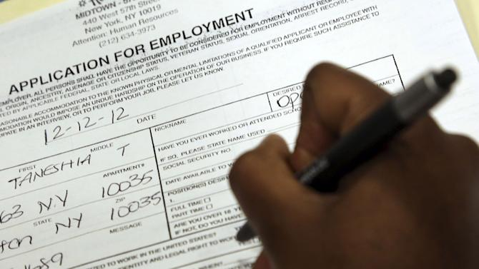 Steady US hiring expected last month despite cliff
