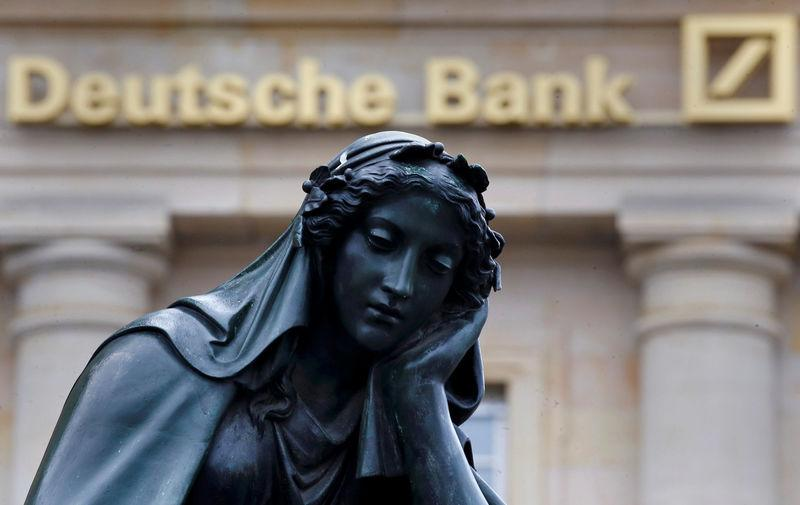 FCA sees issues in Deutsche Bank controls over financial crimes, FT reports