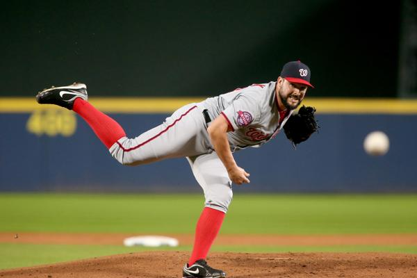Tanner Roark starts in season finale for the Nationals