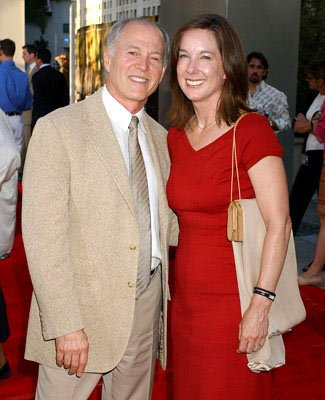 Producer Frank Marshall and Kathleen Kennedy at the Hollywood premiere of Universal Pictures' The Bourne Supremacy