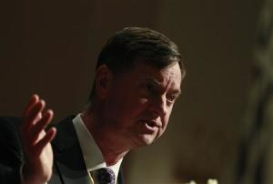 Chicago Federal Reserve Bank President Charles Evans speaks during the Sasin Bangkok Forum in this file photo