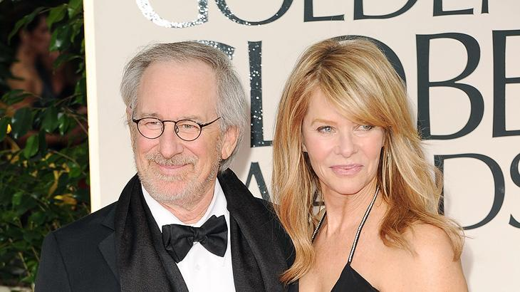 Steven Speilberg and Kate Capshaw