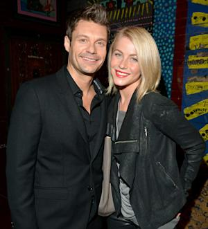 "Julianne Hough Still Gets ""Giddy"" When She Sees Ryan Seacrest on TV"
