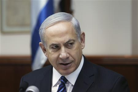 BENJAMIN NETANYAHU PROMET D'AGIR CONTRE LA DISSMINATION D'ARMES DEPUIS LA SYRIE
