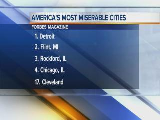 5am: Forbes ranks most miserable cities