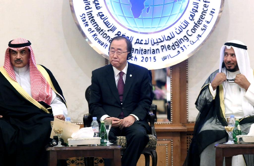 UN seeks billions for Syria at Kuwait donors' meet