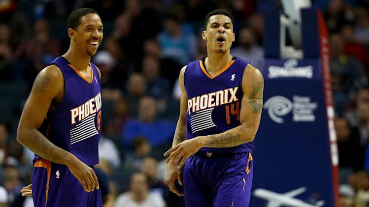 Frye scores 20 to lead Suns over Bobcats 98-91