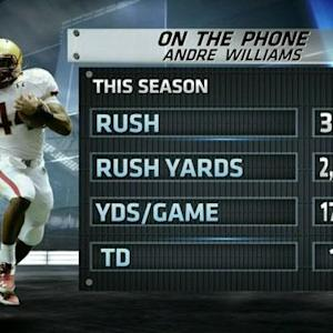Andre Williams on Heisman invite