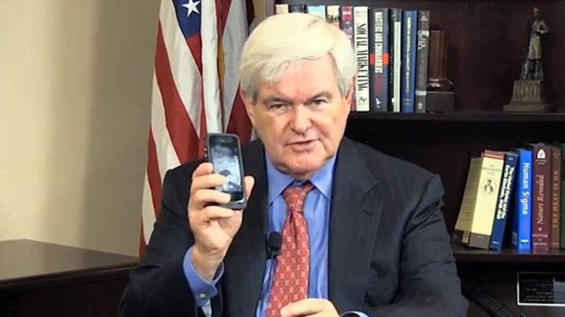 Newt Gingrich Wants to Rename the Cell Phone (ABC News)