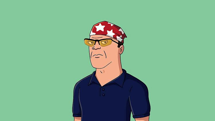 "Rex (voiced by Diedrich Bader) stars in ""Napoleon Dynamite."""