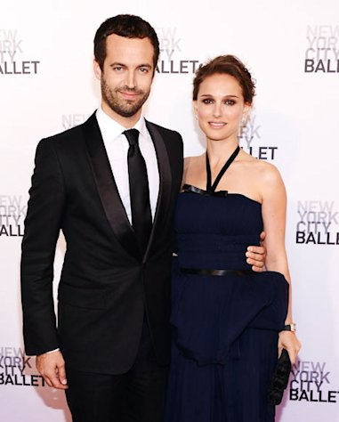 Natalie Portman, Benjamin Millepied Have Wedding Ceremony