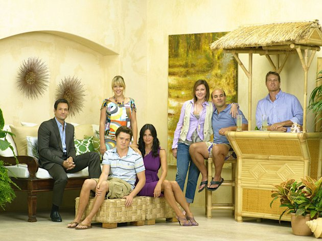 "The cast of ""Cougar Town"""