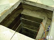 <p>US and Mexican authorities have unearthed a 240-yard-long drug smuggling tunnel, pictured in this photo courtesy of the US Drug Enforcement Administration.</p>