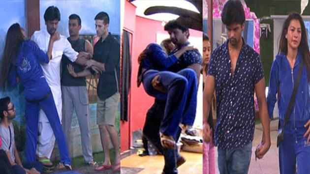 Bigg Boss 7 Kushal Kicked Out Gauhar Leaves the House