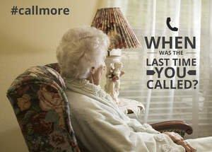 #CallMore Campaign Asks You to Stop Texting, Start Talking to Seniors